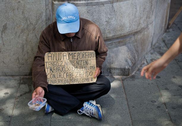 Die bisherige Krisenpolitik der EU ist gescheitert. Noch nie waren so viele Menschen in der Union ohne Arbeit wie jetzt. (Foto: Julian Stratenschulte/dpa/picturedesk.com)