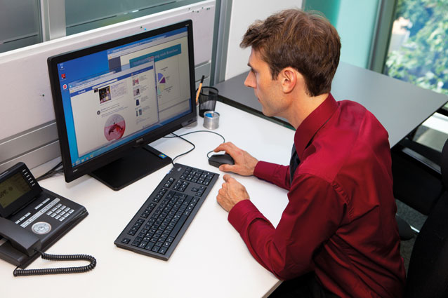 Unser Surfverhalten im Internet ist für IT-Experten leicht nachvollziehbar. (Foto: Nurith Wagner-Strauss)