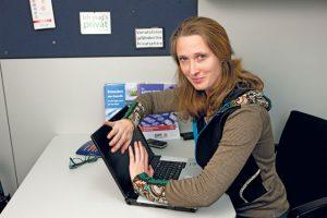 Datenschutz-Expertin in der GPA-djp: Clara Fritsch (Foto: Nurith Wagner-Strauss)