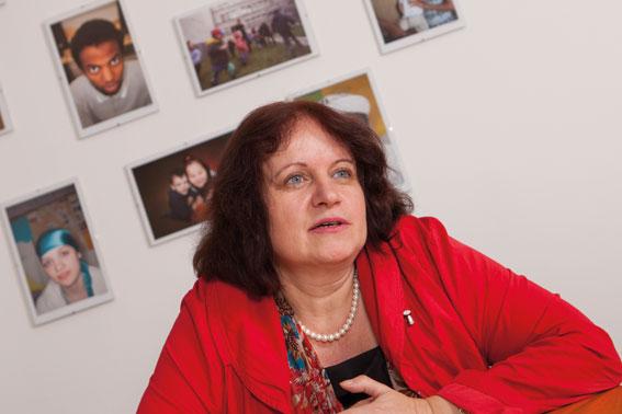 Geschäftsführerin Andrea Eraslan-Weninger fordert besseren Zugang zum Arbeitsmarkt für Asylwerber. (Foto: Nurith Wagner-Strauss)