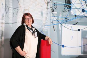 Sabine Eibelmayer, Zentralbetriebsratsvorsitzende von Spar