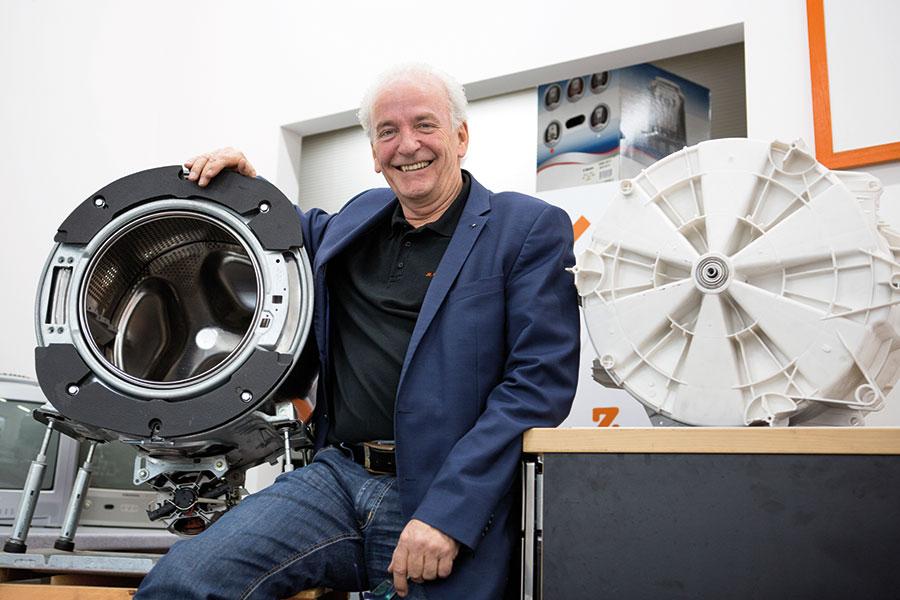 """Sepp Eisenriegler, Autor und """"Pionier der Ressourcenschonung"""" Foto: Nurith Wagner-Strauss"""