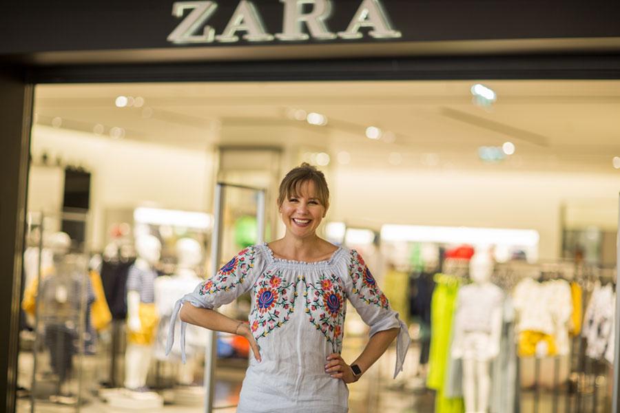 Kathrin Lukac ist Betriebsrätin bei ZARA. Foto: Nurith Wagner-Strauss