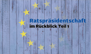 EU Ratspräsidentschaft: Gemessen am eigenen Programm
