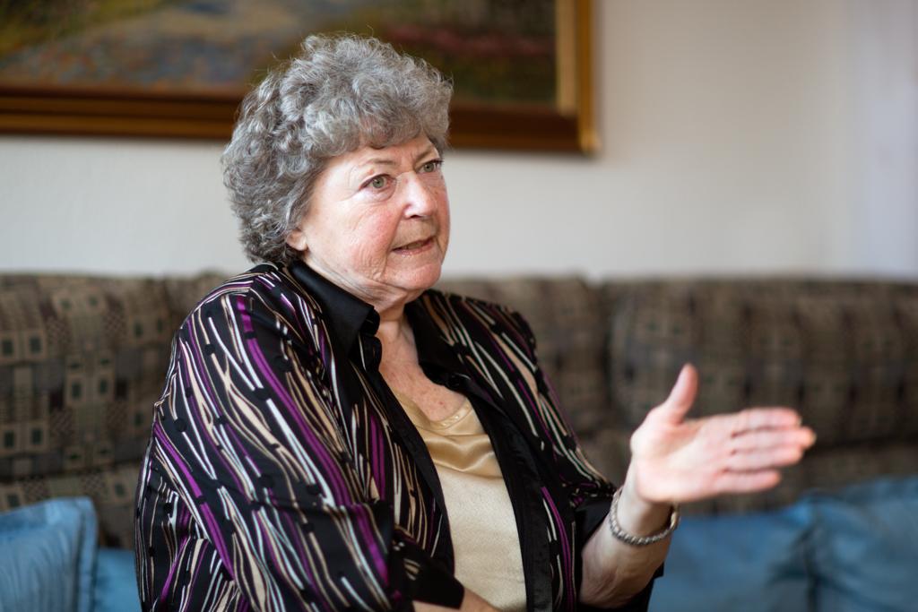 Lore Hostasch, ehemals Sozialministerin, Vorsitzende der GPA, Vizepräsidentin des ÖGB, Präsidentin der Arbeiterkammer und Nationalratsabgeordnete. Foto: Nurith Wagner-Strauss