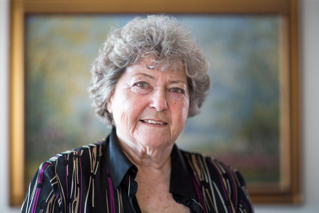 Lore Hostasch, Foto: Nurith Wagner-Strauss