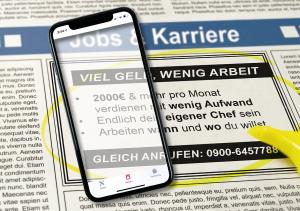 Konsumentenschutz: Vorsicht Betrug!