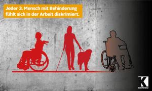Menschen mit Behinderungen fühlen sich häufig diskriminiert
