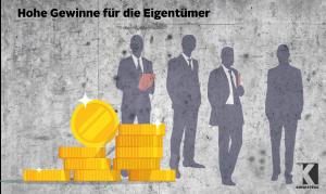 Abfertigungskassen: Magere Erträge, hohe Verwaltungskosten