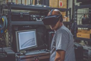 Virtual Reality am Arbeitsplatz