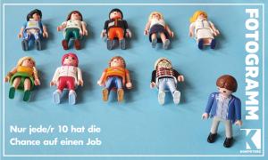 Nur jede/r 10 hat die Chance auf einen Job