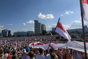 Weißrussland: Gewerkschaften unterstützen Kampf für Freiheit und Demokratie