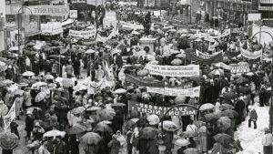 Gewerkschaftsgeschichte und der Kuss nach Ladenschluss